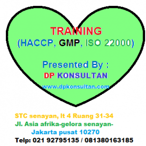 Inhouse / Private / Public training HACCP, GMP / ISO 22000